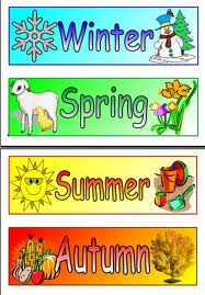 English four seasons in one year