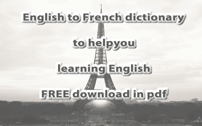 translate scanned pdf french to english
