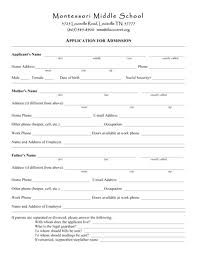 Application Forms Fill Out Basic Forms English