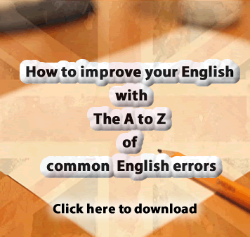 A to Z of common English errors to download in pdf for free