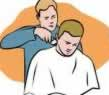 Barber for cutting mens hair