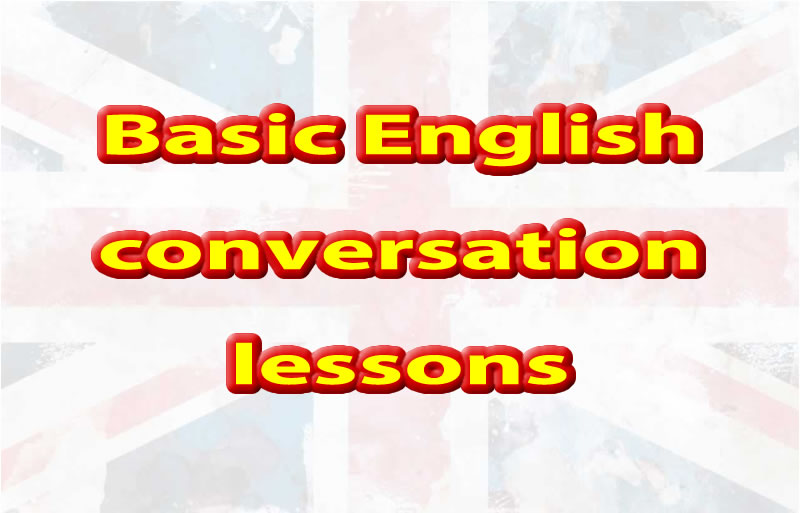 Learning basic English conversation