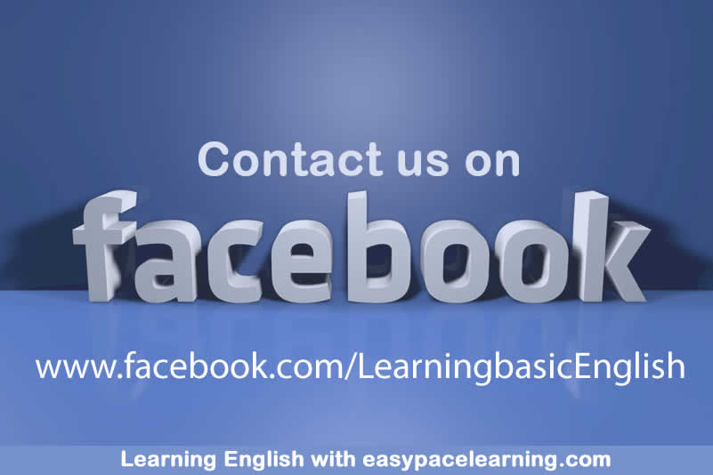 To contact us on Facebook click on the image