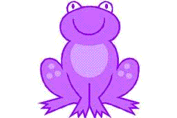The purple frog story