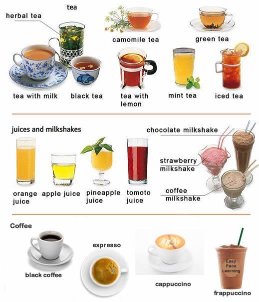 Rainforest Cafe Drink List