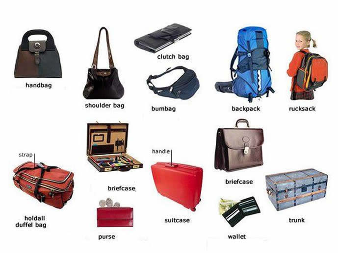 Different Types Of Bags