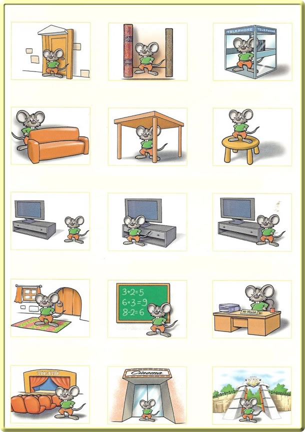 prepositions of place exercise learning english. Black Bedroom Furniture Sets. Home Design Ideas