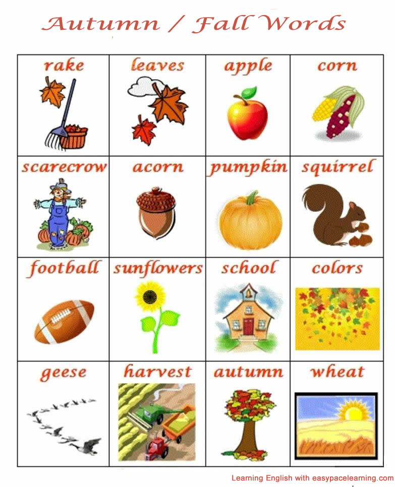 1233 Autumn And Fall Season English Lesson on Printable Preschool Worksheets Cut And Paste Clothes