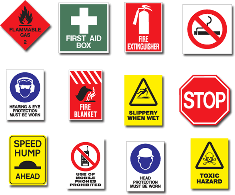 Collection of Safety Signs And Symbols Worksheets - Bloggakuten
