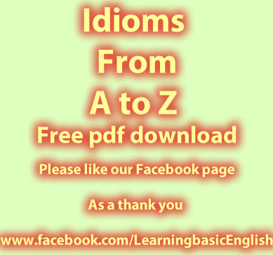 Idioms from A to Z PdF free to download