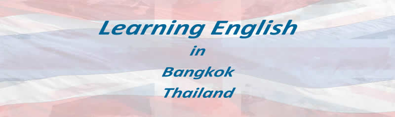 Learning English in Bangkok Thailand
