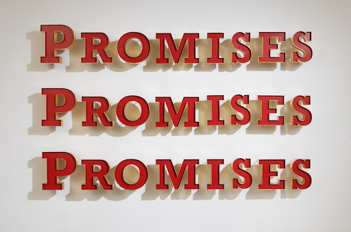 Learn how to use the word promise and what it means when you say it