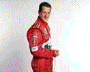 Michael Schumacher is a famous racing driver