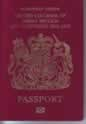 English passport used for entry into another country