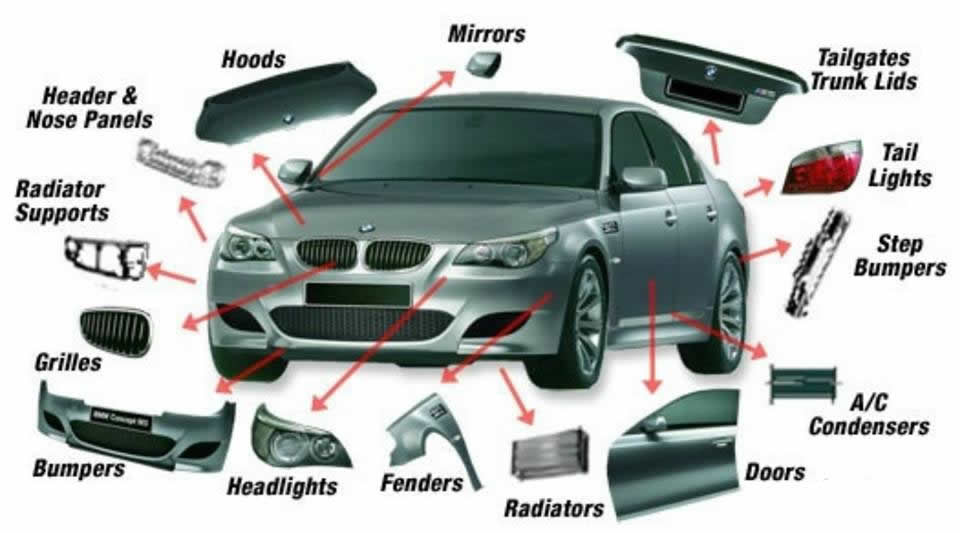 vehicles parts: