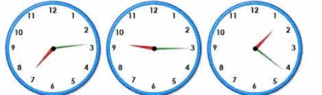 random clocks for practise for telling the time